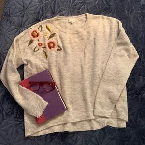 Silverflint embroidered sweater size L
